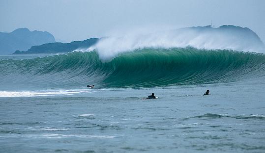 Stormrider Surf Guide To Shikoku Japan East Asia